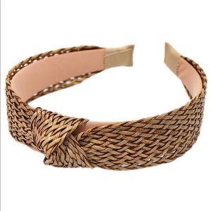 Never used vintage style rattan headband